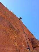 Rock Climbing Photo: splitter above the slot
