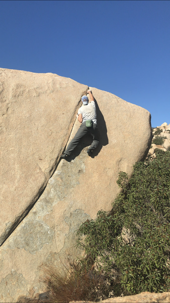 I was feeling that rush you get right before you take the dive all the way to the ground as I reach the lip for the first ascent. My second go was far cleaner and settled on the grade of 10a. Ground up is true adventure bouldering.