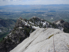 Rock Climbing Photo: Upper ridge, Quantum Perplexus...an extension to E...