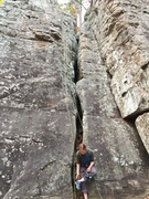 free soloed this route before looking in the book.