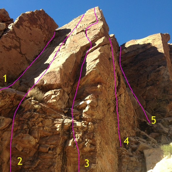 Shark Fin Wall middle.
