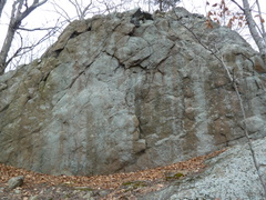 Another boulder/wall