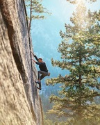 Rock Climbing Photo: An onsight free solo by Matt Lloyd.  Photo: by J...