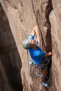 photo by Josh perez. Climbing: matt lloyd.