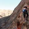 Beginning of climb