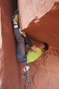 Rock Climbing Photo: Get it, Tom!