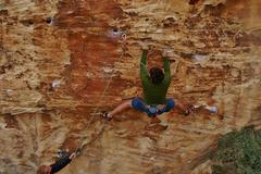 Rock Climbing Photo: Starting out on Native Son