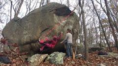 Rock Climbing Photo: First move...