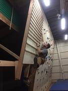 Rock Climbing Photo: Campus board!