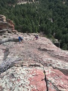 Rock Climbing Photo: From the summit. At least I think it was from the ...