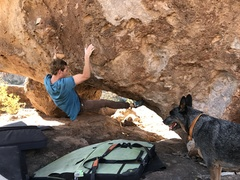 Chris Blakslee comes onto the face of Mother of Invention (V7).
