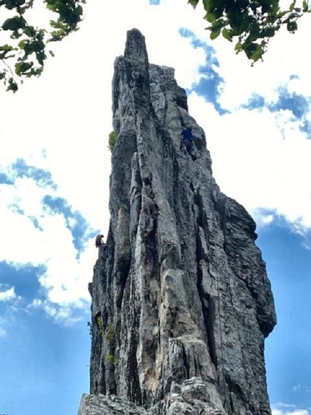 Leading Gunsight to South Peak
