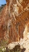 Rock Climbing Photo: The wild tufas and tufa curtains of Sector Mars. N...