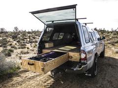 Rock Climbing Photo: Bed platform with drawer