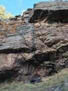Rock Climbing Photo: Hyperextension.
