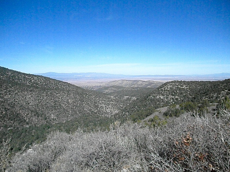 Looking west from the top of Boot Hill Crag.
