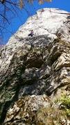 Rock Climbing Photo: A 30+ woman climbing Frauen über 30.