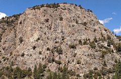 Rock Climbing Photo: Gull Buttress from S . . including sector Tiger W...