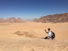 Rock Climbing Photo: Wadi Rum, Jordan.