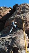 Rock Climbing Photo: A sport route.