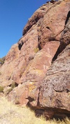 Rock Climbing Photo: Top Rope Route.