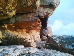 Bouldering at Derech HaAvot