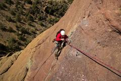 Rock Climbing Photo: Monkey's Face Pioneer p2