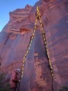 Rock Climbing Photo: Flatulent Cat on the left, Stokat on the right