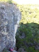 Rock Climbing Photo: Matt on the lead