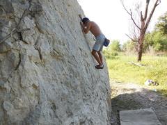Rock Climbing Photo: Me on Bright Rock