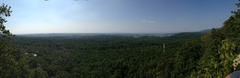 Pano from the top of Jim's Throne area