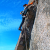 Ray Williams, pitch 2 (left, 5.9) or Big Balls in Cow Town, McKinley Rock. g Orton