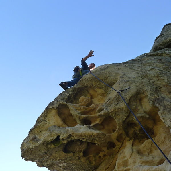 Mike Arechiga on, Mullah. 5.10a