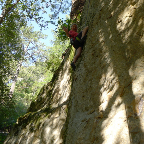 Mike Arechiga on, The Mother Load. 5.11b.Could be one of the best route on the whole Skyline area.