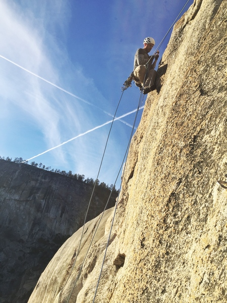 Lenny on Lost Arrow Spire Tip