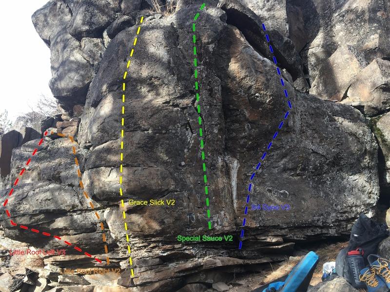 3/4 Boulder area