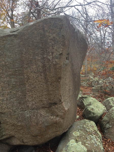 The Prow Boulder.