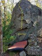 Topo of Stonewall Jackson.