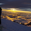 Sunrise at 13,000 feet.