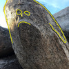 problem on the S boulder