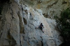 Stepping into the crux