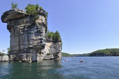 Deep water Soloing at the Long Point