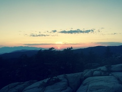 Rock Climbing Photo: No shortage of sunsets at KP.