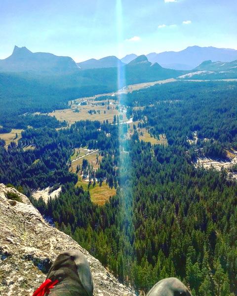 Lembert Dome summit.