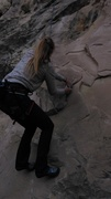 Rock Climbing Photo: Mandy.