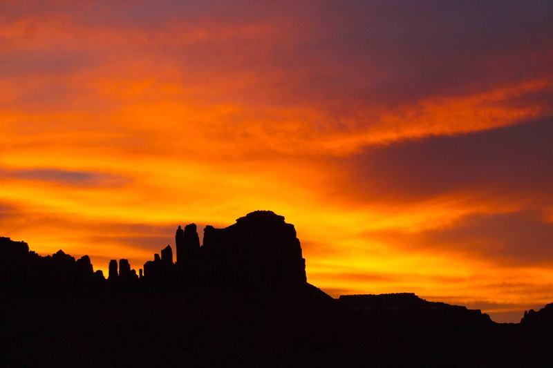 Bridger Jack sunset