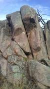 Chimpmunk Hangout crack climb.