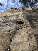 Rock Climbing Photo: Nearing the top on Party in My Mind