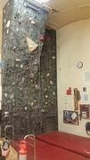 McMurdo Station climbing wall.