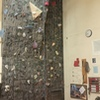 McMurdo Station climbing wall.